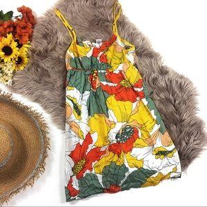 ☕️ 5/$20 O'Neill Colorful Strappy Mini Dress